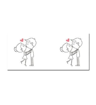 Standard Mug White In Love Kisses
