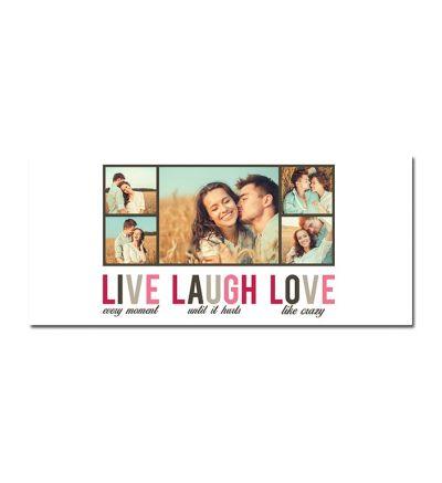 Standard Mug White Live Laugh Love