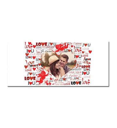Standard Mug White Love Collage
