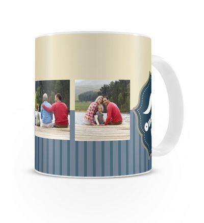 Standard Mug White Ons Is Lief Vir Pappa