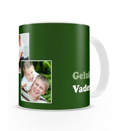Standard Mug White Vadersdag Groen