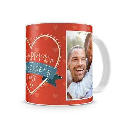 Standard Mug White Valentine Red
