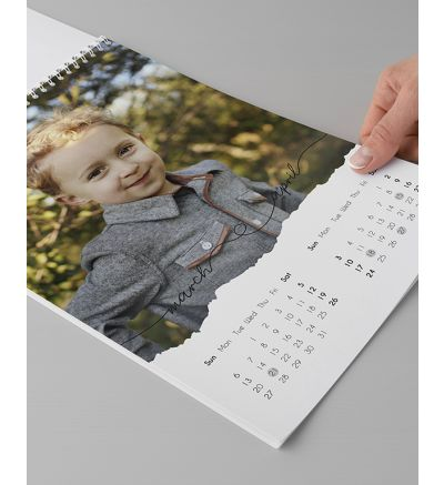 Calendar 6 Page Torn Paper 2022