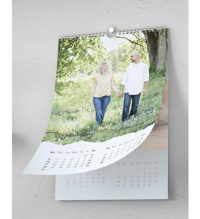 Calendar 6 Page Torn Paper 2021