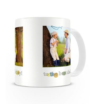Two Tone Mug Fathersday Dots