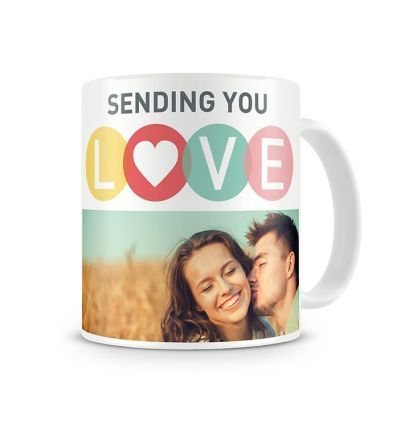 Two Tone Mug Sending You Love