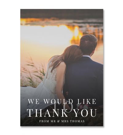 Thank you Cards - A6 Elegant - Set Of 8
