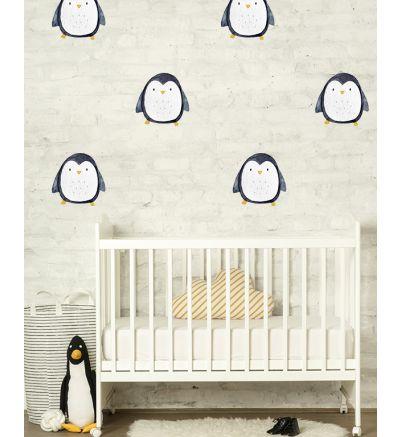 Watercolour Penguins