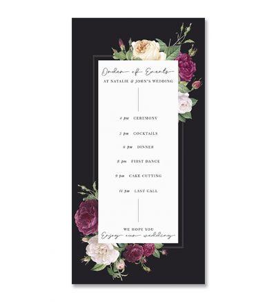 Programmes - DL - Floral - Set of 6