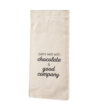 Chocolate Wine Bag