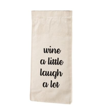 Laugh Wine Bag