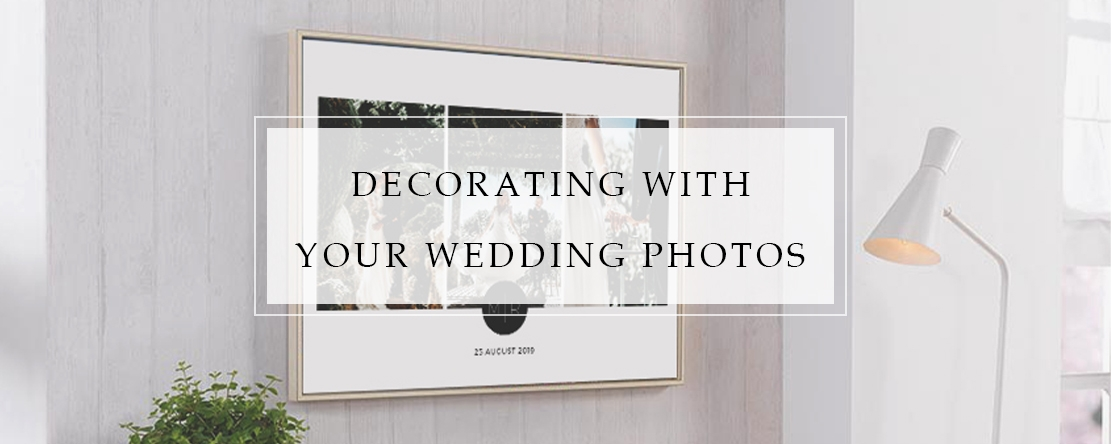 Decorating With Your Wedding Photos