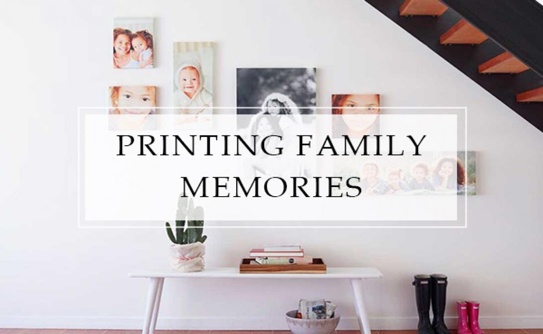 Printing Family Memories