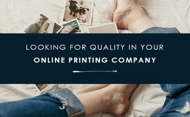 Choosing your printing partner