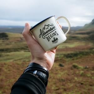 Personalised Tin Mug