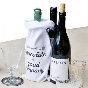 Printed Wine Bags