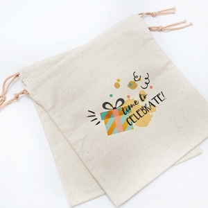 Printed Draw-String Bags