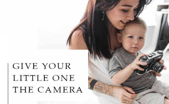Give Your Little One The Camera