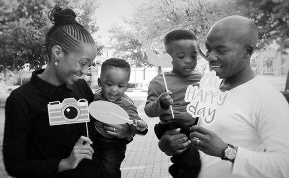 Photo of the Week - Oatile's 1st Birthday with Family and Friends