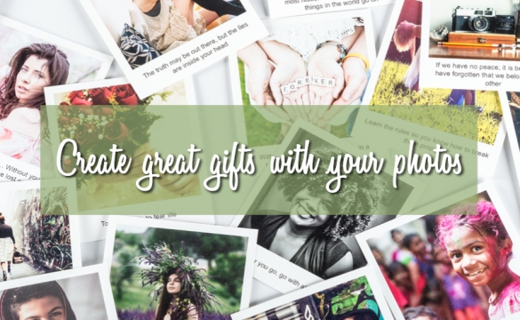 Create Gifts With Your Photos