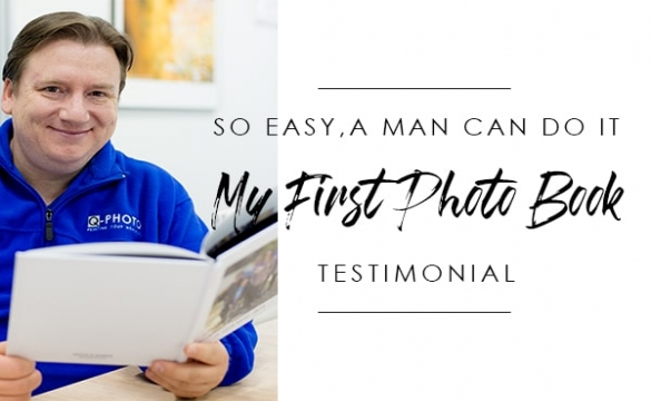 My First Photobook Testimonial