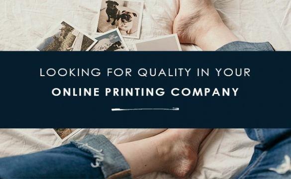 Choosing your printing partner