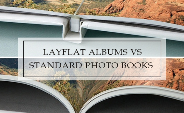 Layflat Albums vs Standard Photo Books