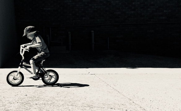 Photo of the Week - Lone Rider