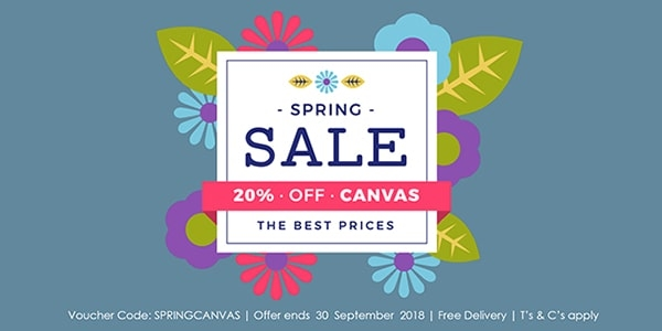 20% Off Canvas