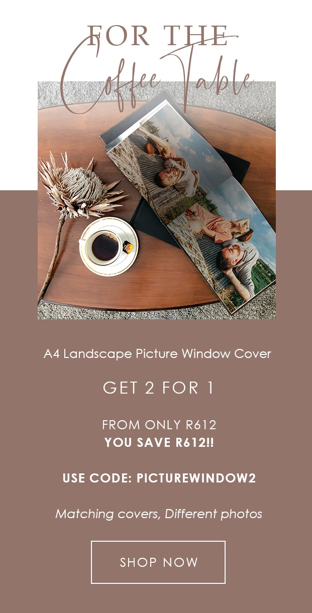 2 For 1 Landscape Photo Book Picture Window Cover