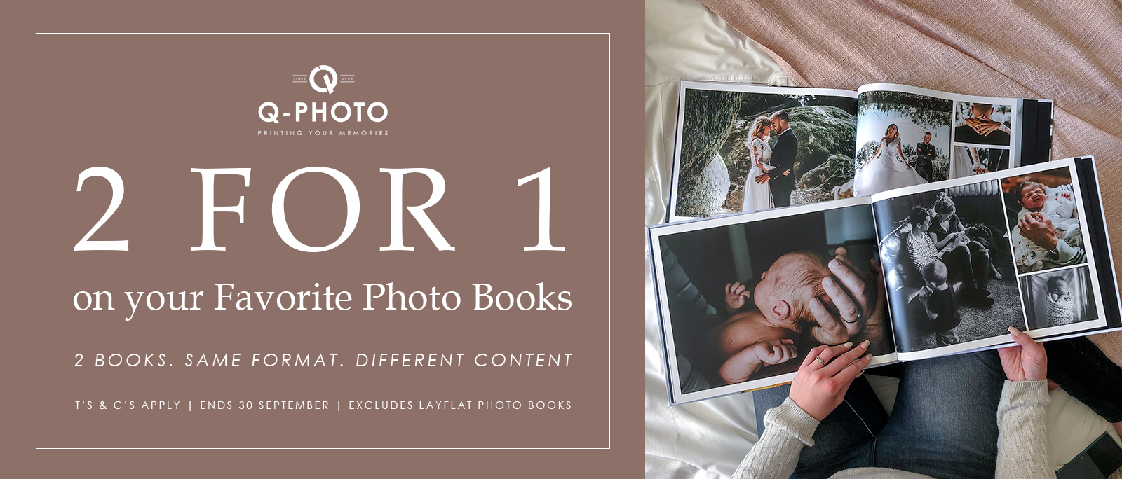 2 For 1 Photo Book More Deal