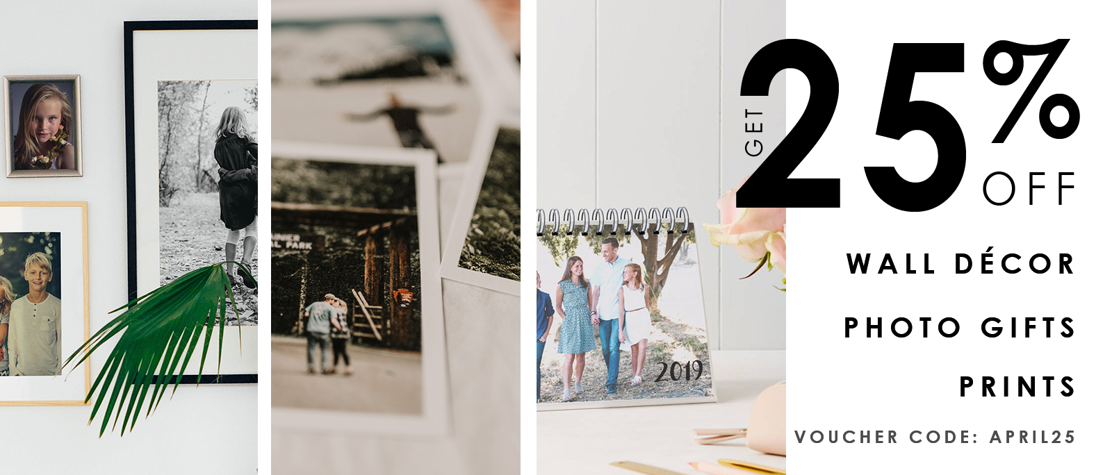 25% Off Wall Decor, Photo Gifts and Prints