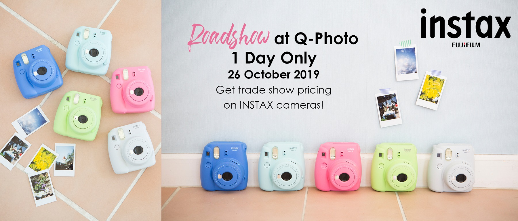 Instax Road Show
