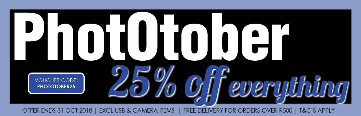 25% Off Everyting - Phototober