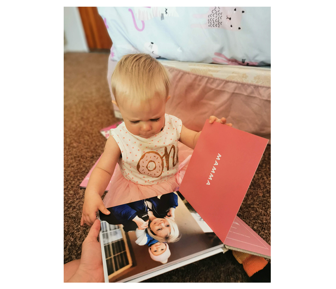 Why I made a baby board book