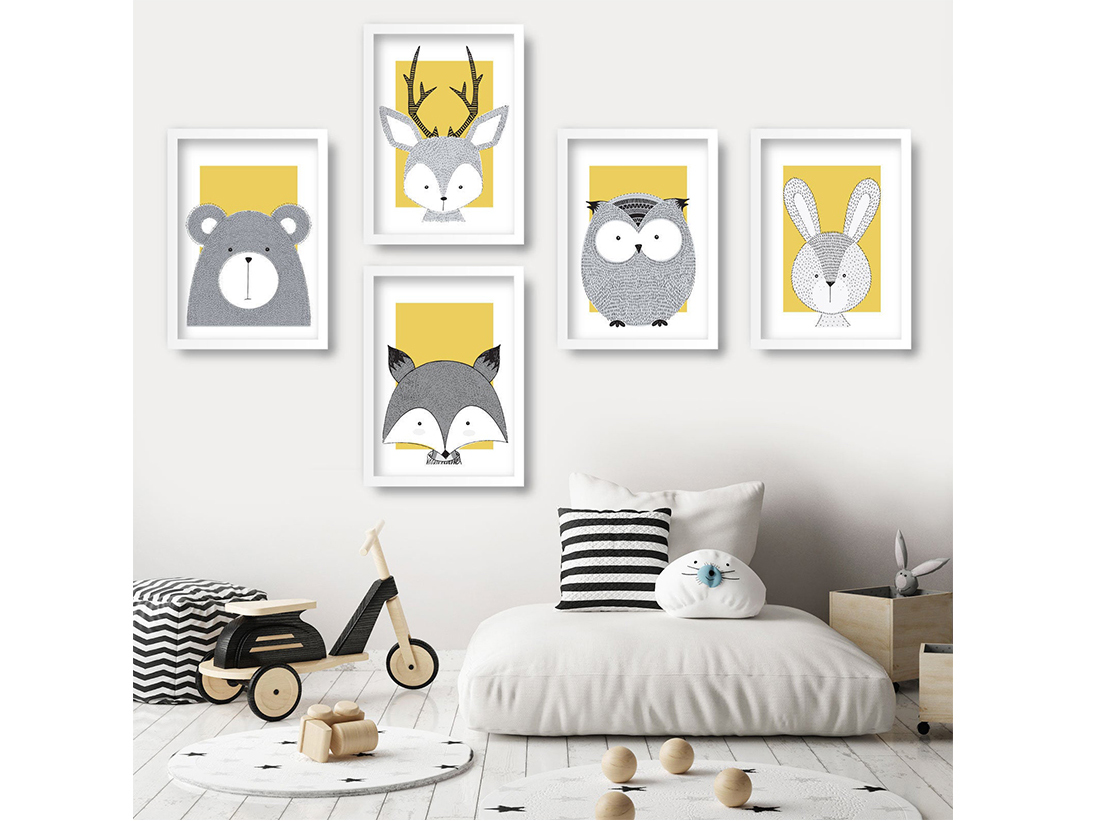 Creative Kids - White Gallery Frame