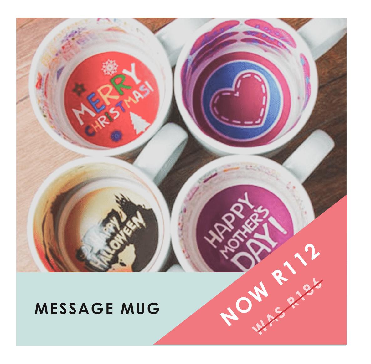 Message Mugs