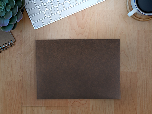 Landscape Faux Leather Cover Photo Book