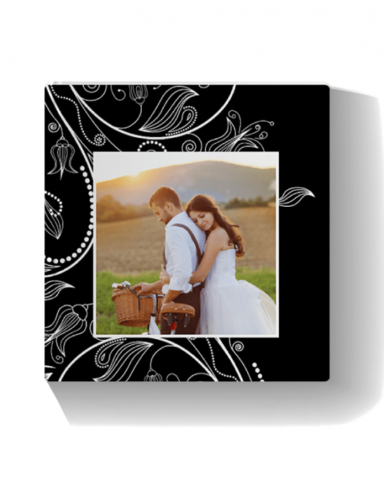 Wedding Bliss Layflat Landscape Photo Book Printed Hard Cover